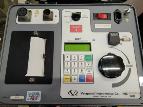 Vanguard Instruments EZCT Current Transformer Tester With Cables & Storage Case