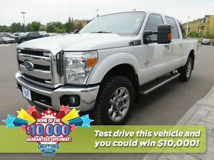 2015 Ford F-350 Lariat 6.7l Powerstroke v8 Diesel Super Duty,...