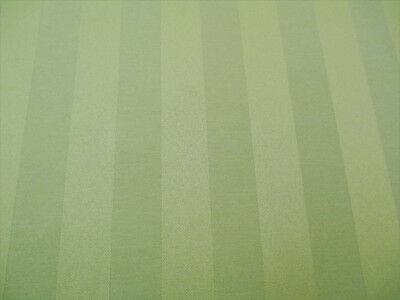 Discount Fabric Upholstery Drapery Brocade Satin Stripe Sage Green BB40