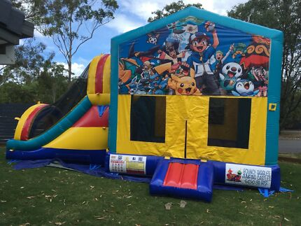 Pokemon combo Jumping Castle $249 full day hire