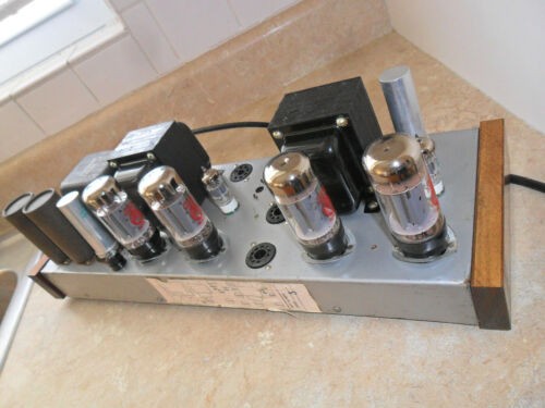 ++++ RESTORED CONN USA 6L6 7027A STEREO TUBE POWER AMPLIFIER ++++