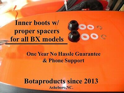 Kubota Bx Gr Poly Inner Tie Rod Boots Upgrade All Bx Models 1 Yr Warranty