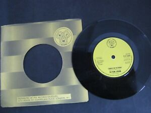 "Vinyl Record 7"" Single ELTON JOHN CANDLE IN THE WIND (P)"