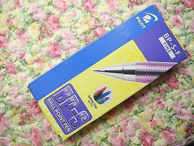 36pcs Pilot Bp-s 0.7mm Fine Ball Point Pen With Cap Purple Inkjapan