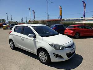2012 Hyundai i20 PB MY12 Active White 4 Speed Automatic Hatchback Welshpool Canning Area Preview