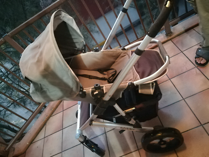 Steelcraft Strider Stroller with Bassinet- Fully Functional