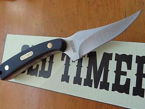 GENUINE SCHRADE OLD TIMER 152OT SHARPFINGER  HUNTING KNIFE  LEATHER BELT SHEATH