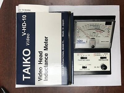 Taiko Video Head Inductance Meter V-hd-10