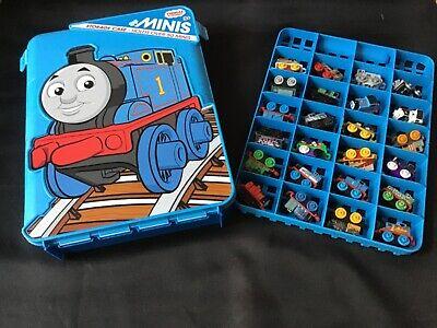 Mini Thomas The Train (Thomas The Train Minis Lot Of 43 With Thomas & Friends Case Rare Very)