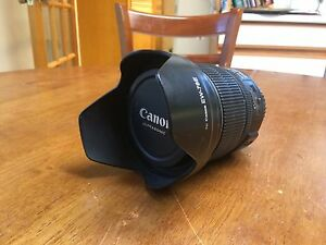 Canon 15-85 EF-S ISM lens