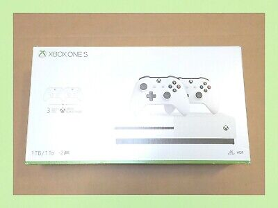 Xbox One S 1TB Bundle with 2 Controllers 234-00803