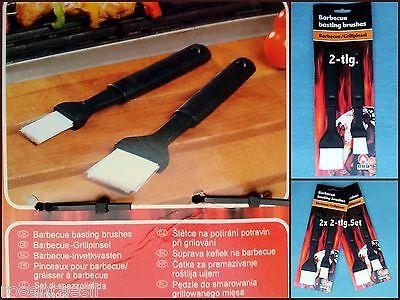 BBQ Pennello per griglia Matarello CUCINA universalpinsel 2-tlg. O 2x 2 parti