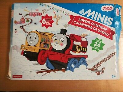 Thomas & Friends Minis Advent Calendar w Exclusive Minis Fisher Price Christmas