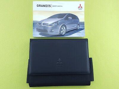 MITSUBISHI GRANDIS (2003 - 2009) Owners Manual / Handbook + Case / Wallet