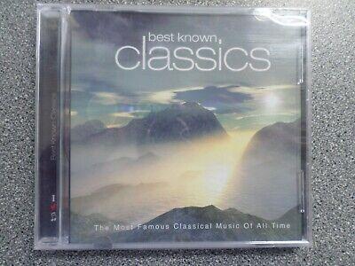 BEST KNOWN CLASSICS  - VARIOUS ARTISTS - CD - ALBUM - (NEW &