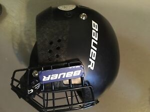 Bauer youth helmet