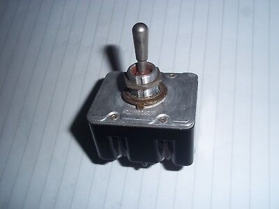 Military Aircraft Toggle Switchhoneywell Type 91929 4p0le Onoff 4tl1-2