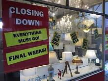 Mode Lighting's CLOSING DOWN SALE - Must clear by June 30! Gladesville Ryde Area Preview