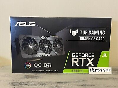 ⭐️SHIPS TODAY⭐️ ASUS TUF Gaming NVIDIA GeForce RTX 3060 Ti OC Graphics Card 8GB