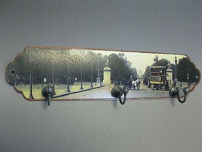 Garderobenleiste Handtuchhalter Hakenleiste 29 cm mit 3 Haken Paris