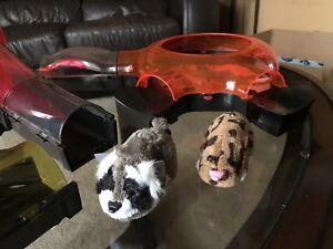Zhu Zhu pet hamsters with wheel and track