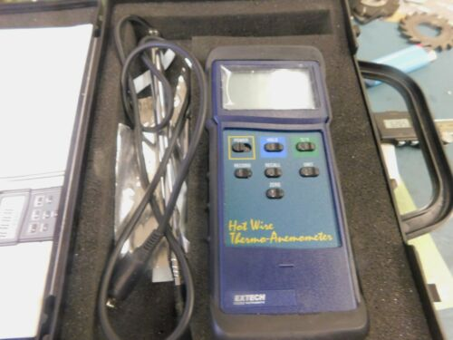 Extech 407123 Hot Wire Thermo-Anemometer
