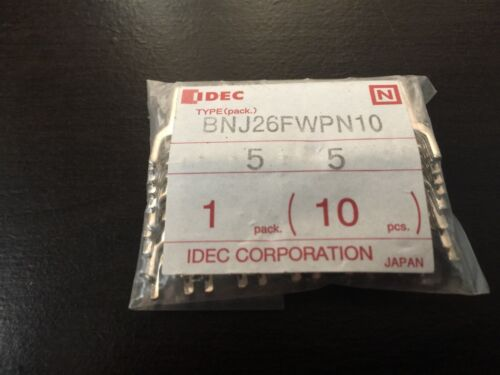 NEW IN PACKAGE IDEC SPRING UP SCREW FOR TERMINAL BLOCK PACK OF 10 BNJ26FWPN10