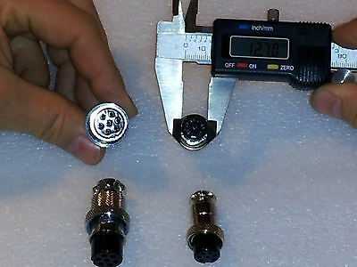Tig Welding - Plasma Cutter - 7 Pin - Small Connector Plug - Us Seller
