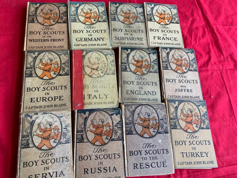Captain John Blaine - 12 Boy Scout Series books