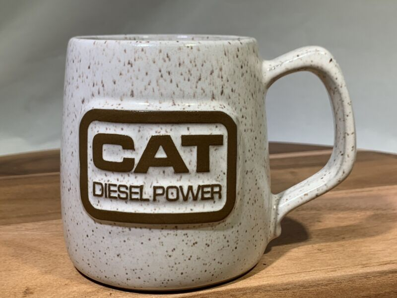 Vintage CAT DIESEL POWER Ceramic Coffee Mug Cup