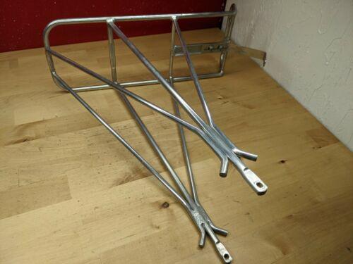 Vintage Silver Jim Blackburn Aluminum Rear Touring Bike Rack Made in USA
