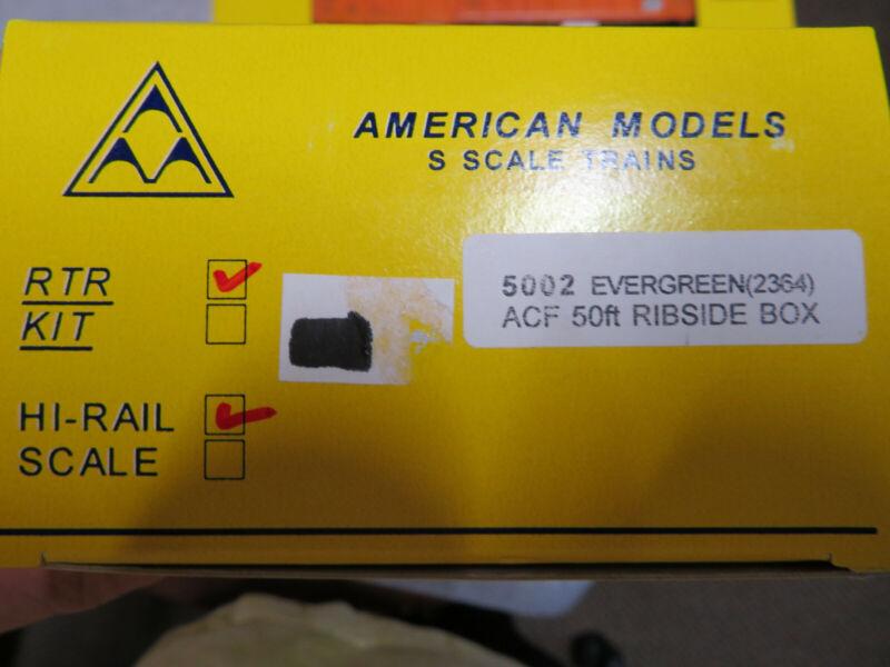 American Models Evergreen 50