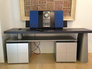 Bang & Olufsen BEOSYSTEM 2500 PLUS REMOTE and B & O FURNITURE Darling Point Eastern Suburbs Preview