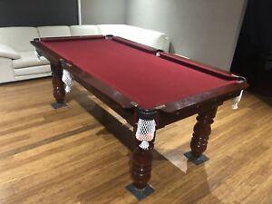7ft Slate Pool Table Plus Extras
