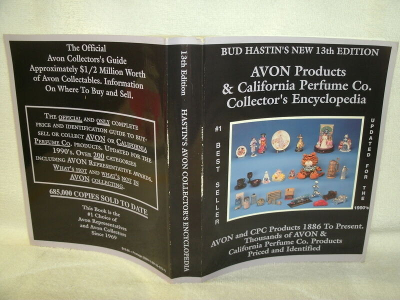 AVON Products & California Perfume Co--Collector Encyclopedia-13th Ed-1994