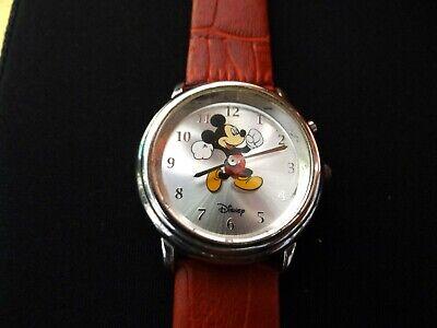 "SII by SEIKO Vintage Disney Animated ""Run Mickey, Run!"" MICKEY MOUSE Watch OK!"