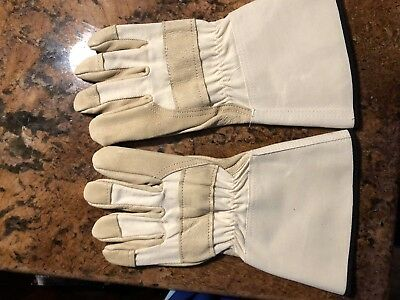 Shelby Tan Pigskin Gauntlet Cal-osha Structural Fire Gloves - She4235-j
