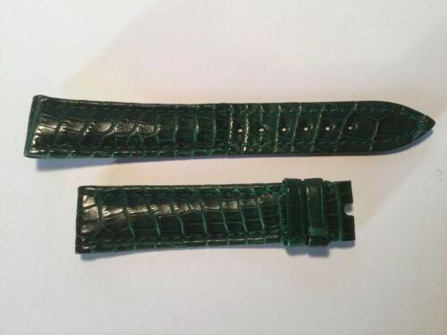 Corum Kroko Armband  Dornschließe 18mm