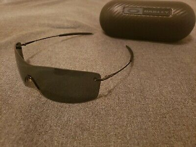 Oakley Nanowire 3.0 Polished Black/Black Iridium Polarized Very Rare