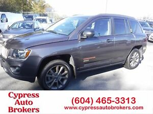 2017 Jeep Compass Sport (Leather & Sunroof)