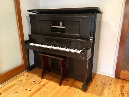 Antique Estey Piano Co (New York) Upright Piano / Pianola