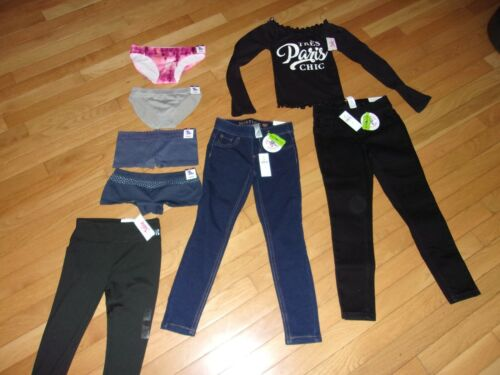 NWT GIRLS 8 PIECE JUSTICE LOT SIZE  6