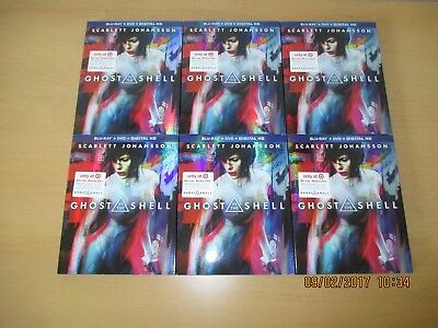 Ghost In The Shell  Blu Ray Dvd  Includes Digital Copy  New Target Exclusive