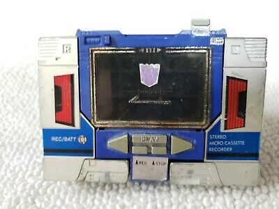 Transformers G1 SOUNDWAVE Vintage 1983 w/ battery cover