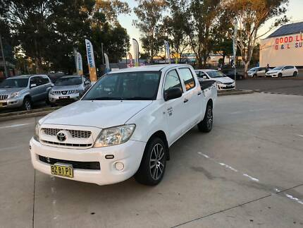 2005 Toyota Hilux  dual cab workmate 3 month Rego 180,000Km Mount Druitt Blacktown Area Preview