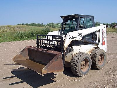 Bobcat 853 & 853H Skid Steer Workshop Manual and Operators Manual