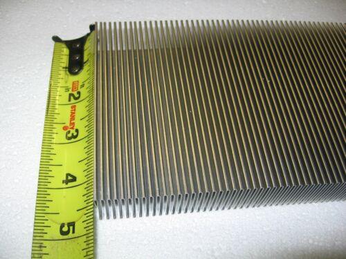 "Aluminum Thermal Heat Transfer Fin 4.6"" x 160"" Flexible Corrugated Folded Radial"