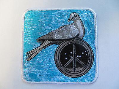 1960s Peace Sign (Vintage 1960's Peace & Dove Patch Mint Condition! Protest, Hippie, Peace)