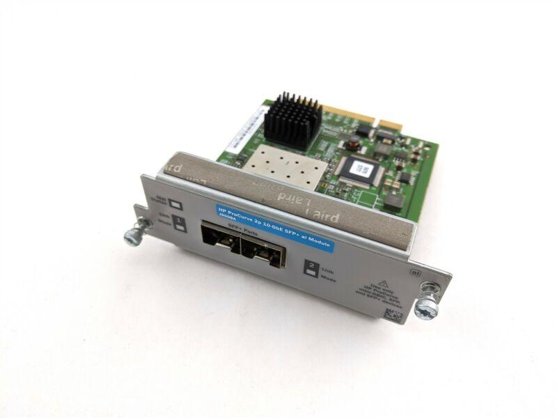 Hewlett Packard HP J9008A ProCurve 2-Port 10-GbE SFP+ al Expansion Module Insert