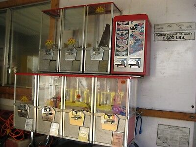 Gumball Toy Vending Machines With Racknorthwesterns